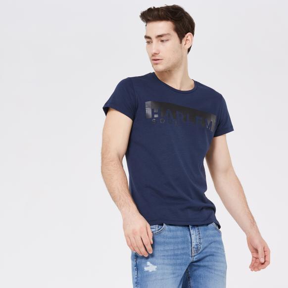 BEL-FAST T-Shirt mit Print middle blue