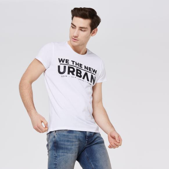 BEL-FAST T-Shirt mit Print white