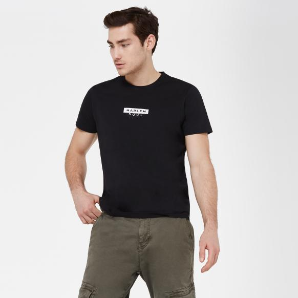 MEL-BOURNE T-Shirt mit Mini Logo Print black