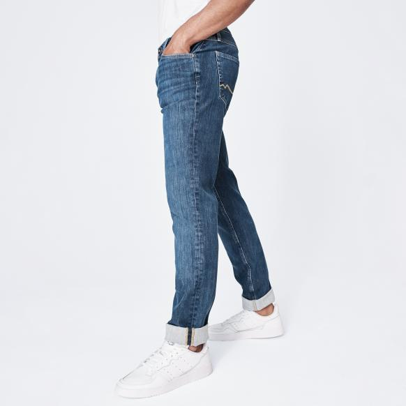Blue Used Jeans CLE-VE blue used
