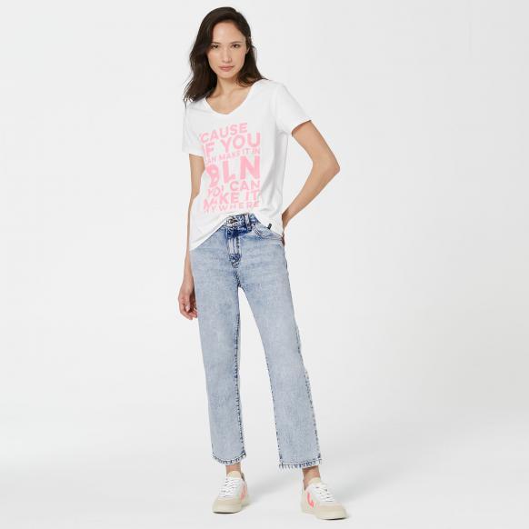 Mom Fit Jeans JEN-NA  Light Vintage Used light vintage used