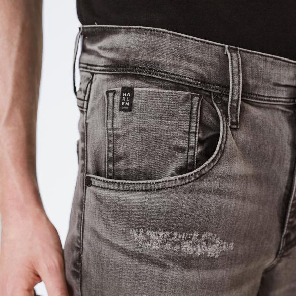 Grey Destroyed Jeans CLE-VE
