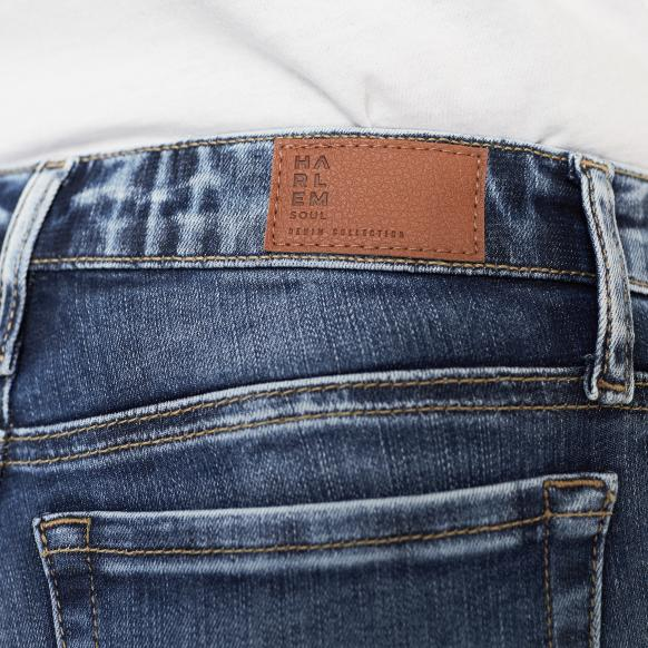 Blue Used Destroyed Jeans KAR-LIE