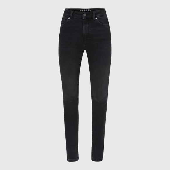 High Waist Skinny Jeans AL-MA black