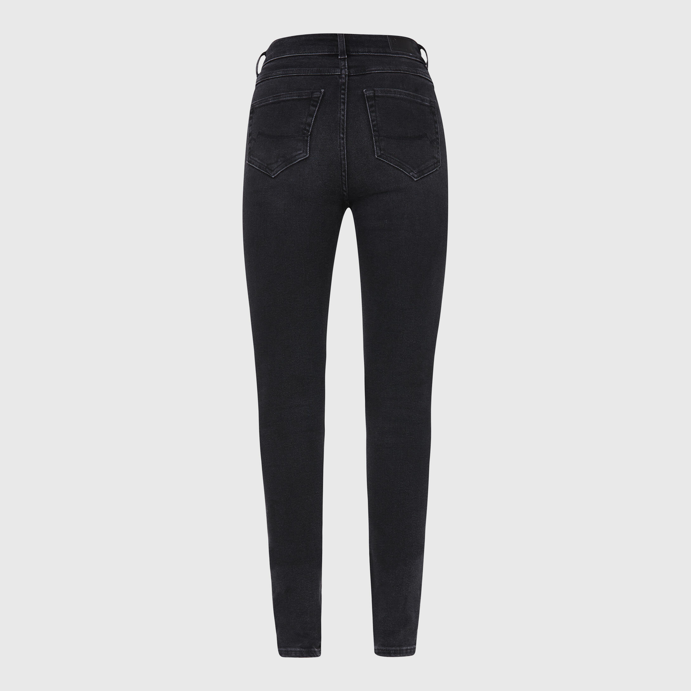 High Waist Skinny Jeans AL-MA black